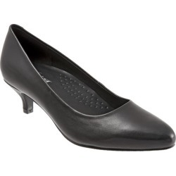 Trotters Kiera Women's Shoes Black 7 Wide Wide (EE) found on Bargain Bro India from trotters for $99.95
