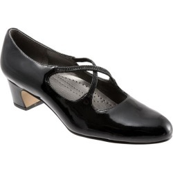 Trotters Jamie Women's Shoes Black Patent 12 Medium (B) found on Bargain Bro from trotters for USD $75.96