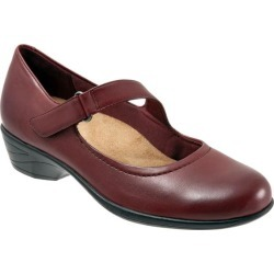 Trotters Rona Women's Shoes Dark Red 7.5 Medium (B) found on Bargain Bro Philippines from trotters for $114.95
