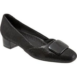 Trotters Delse Women's Shoes Black Lizard 10 Wide Wide (EE) found on Bargain Bro Philippines from trotters for $109.95
