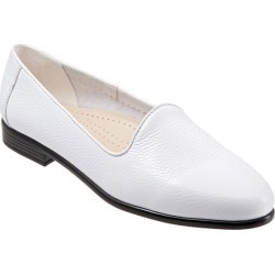 Trotters Liz Tumbled Women's Shoes White 11.5 Medium (B) found on Bargain Bro from trotters for USD $75.96