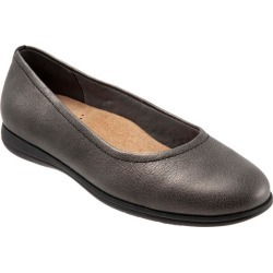 Trotters Darcey Women's Shoes Pewter 9 Narrow (AA) found on Bargain Bro India from trotters for $99.95