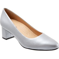 Trotters Kari Women's Shoes Grey Pearlized 8 Medium (B) found on Bargain Bro India from trotters for $109.95