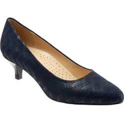 Trotters Kiera Women's Shoes Navy Waves 7 Narrow (AA) found on Bargain Bro Philippines from trotters for $109.95