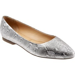 Trotters Estee Women's Shoes Silver Snake 7.5 Medium (B) found on Bargain Bro Philippines from trotters for $135.00