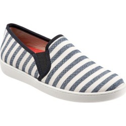 Trotters Americana Women's Shoes Black Cream Linen 9 Medium (B) found on Bargain Bro India from trotters for $39.99