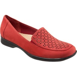 Trotters Jenn Laser Women's Shoes Red Nubuck 11.5 Narrow (AA) found on Bargain Bro India from trotters for $59.99