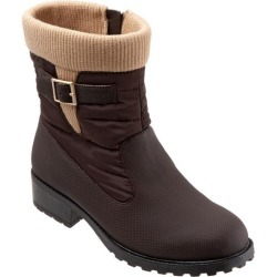 Trotters Berry Mid Women's Shoes Dark Brown 8.5 Wide Wide (EE) found on Bargain Bro India from trotters for $99.95
