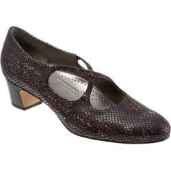 Trotters Jamie Women's Shoes Eggplant Snake 10.5 Narrow (AA) found on Bargain Bro Philippines from trotters for $99.95