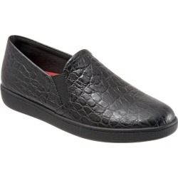 Trotters Americana Women's Shoes Black Croco 6 Narrow (AA) found on Bargain Bro India from trotters for $39.99