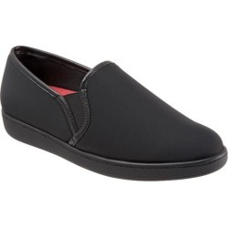 Trotters Americana Women's Shoes Black Micro 10 Medium (B) found on Bargain Bro India from trotters for $39.99