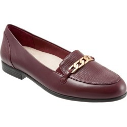 Trotters Anastasia Women's Shoes Burgundy Lizard 6.5 Wide (D) found on Bargain Bro Philippines from trotters for $99.95