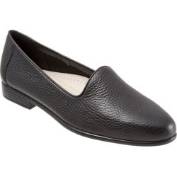 Trotters Liz Tumbled Women's Shoes Black 10 Medium (B) found on Bargain Bro India from trotters for $99.95
