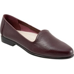 Trotters Liz Tumbled Women's Shoes Burgundy 9.5 Wide Wide (EE) found on Bargain Bro Philippines from trotters for $99.95