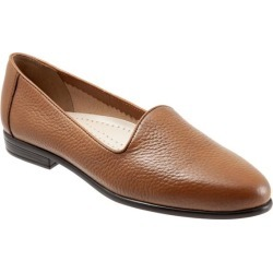 Trotters Liz Tumbled Women's Shoes Tan 12 Narrow (AA) found on Bargain Bro from trotters for USD $75.96