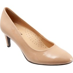 Trotters Babette Women's Shoes Nude Patent 9.5 Narrow (AA) found on Bargain Bro from trotters for USD $83.56