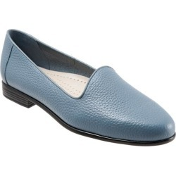 Trotters Liz Tumbled Women's Shoes Blue 11.5 Wide (D) found on Bargain Bro India from trotters for $99.95