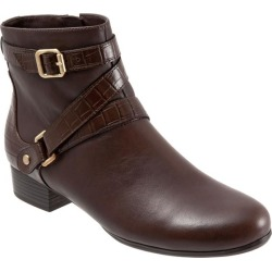 Trotters Mika Women's Shoes Dark Brown 9 Wide (D) found on Bargain Bro Philippines from trotters for $144.95