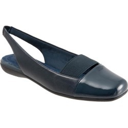 Trotters Sarina Women's Shoes Navy 11 Medium (B) found on Bargain Bro India from trotters for $49.99