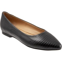 Trotters Estee Women's Shoes Black Embossed 11 Medium (B) found on Bargain Bro India from trotters for $130.00