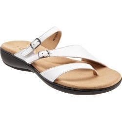 Trotters Ricki Women's Shoes White 11 Wide Wide (EE) found on Bargain Bro from trotters for USD $72.16