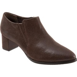 Trotters Keegan Women's Shoes Dark Brown Lizard 7 Wide (D) found on Bargain Bro India from trotters for $129.95