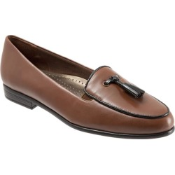 Trotters Leana Women's Shoes Cognac Black 7.5 Medium (B) found on Bargain Bro Philippines from trotters for $94.95