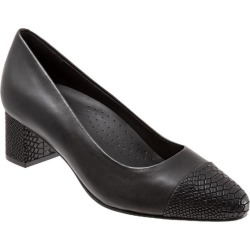 Trotters Kiki Women's Shoes Black 9.5 Medium (B) found on Bargain Bro from trotters for USD $83.56