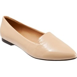 Trotters Harlowe Women's Shoes Nude Patent 9 Wide Wide (EE) found on Bargain Bro from trotters for USD $75.96