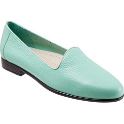 Trotters Liz Tumbled Women's Shoes Aqua 6.5 Wide Wide (EE) found on Bargain Bro from trotters for USD $75.96