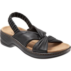 Trotters Nella Women's Shoes Black 12 Wide (D) found on Bargain Bro from trotters for USD $37.99