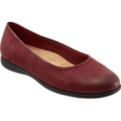 Trotters Darcey Women's Shoes Dark Red 9.5 Medium (B) found on Bargain Bro from trotters for USD $75.96