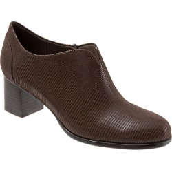 Trotters Qutie Women's Shoes Dark Brown Lizard 9.5 Wide (D) found on Bargain Bro India from trotters for $124.95