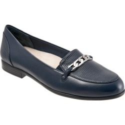 Trotters Anastasia Women's Shoes Navy Lizard 6 Medium (B) found on Bargain Bro Philippines from trotters for $99.95
