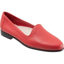 Trotters Liz Tumbled Women's Shoes Red 8 Wide (D) found on Bargain Bro from trotters for USD $75.96