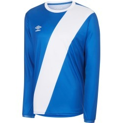 NAZCA LS JERSEY M Tw Royal / White found on Bargain Bro from umbro.co.uk for £22