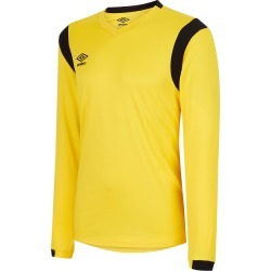 SPARTAN LS JERSEY M Yellow/ Black found on Bargain Bro from umbro.co.uk for £17