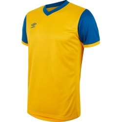 WITTON JERSEY SS JUNIOR YXL SV Yellow / Royal found on Bargain Bro UK from umbro.co.uk