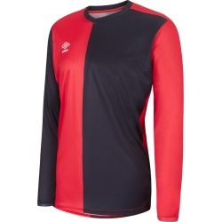 50/50 LS JERSEY JUNIOR YS Vermillion / Black found on Bargain Bro from umbro.co.uk for £18