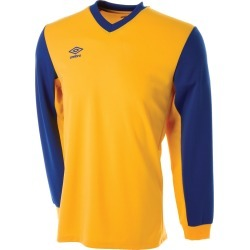 WITTON JERSEY LS JUNIOR YXL SV Yellow / Royal found on Bargain Bro UK from umbro.co.uk