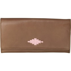 Pampeano 100% Leather Chica Continental Women Purse - Tan with Pink Diamond found on Bargain Bro UK from Unineed Limited CN