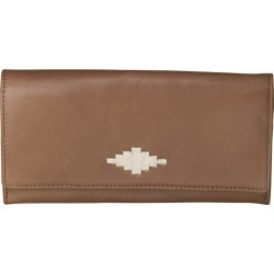 Pampeano 100% Leather Chica Continental Women Purse - Tan with Cream Diamond found on Bargain Bro UK from Unineed Limited CN