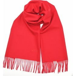 Moschino Logo Merino wool Scarf - Red found on Bargain Bro UK from Unineed Limited CN