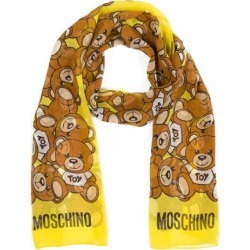 Moschino Toy Bear Scarf - Yellow found on Bargain Bro UK from Unineed Limited CN