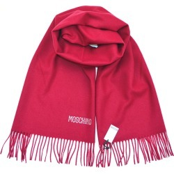 Moschino Diamante Logo Scarf - Deep Red found on Bargain Bro UK from Unineed Limited CN