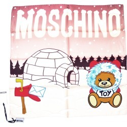 Moschino Igloo Scarf - Pink found on Bargain Bro UK from Unineed Limited CN