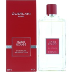 Guerlain Habit Rouge EDT 200ml Spray