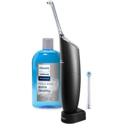 Philips - Sonicare Black AirFloss Pro Power Flosser & Mouthwash found on Bargain Bro UK from Unineed Limited CN