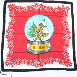 Moschino Snow Globe Scarf - Red found on Bargain Bro UK from Unineed Limited CN