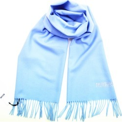 Moschino Diamante Logo Scarf - Light Blue found on Bargain Bro UK from Unineed Limited CN